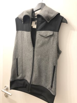 Burton Sports Vests black-silver-colored polyester