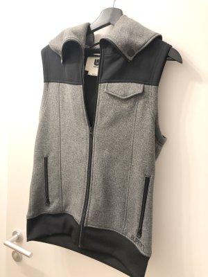 Burton Chaleco deportivo negro-color plata Poliéster