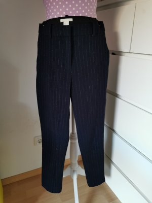 H&M Woolen Trousers dark blue