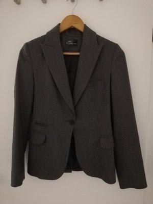 Costume business gris foncé-gris anthracite