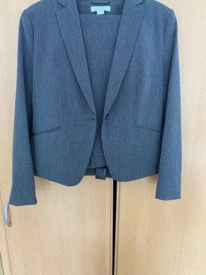 H&M Abito business grigio scuro-antracite