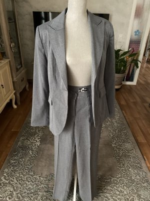 Spodnie garniturowe szary