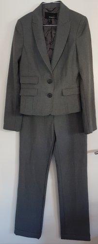 Business Anzug / Twin-Set von Mango Suit, Größe 36, grau, Blazer & gerade geschnittene Hose