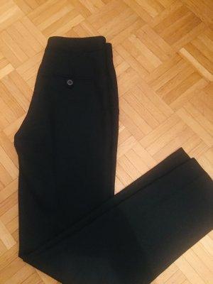 Zara Pantalone di lana nero Tessuto misto
