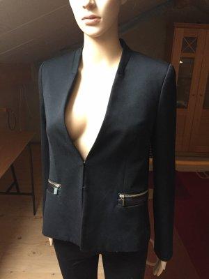 Business Blazer in schwarz