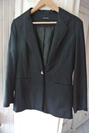 Business Blazer Klassisch Schwarz Gr. 38/40 UK12