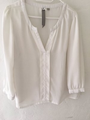 Business Bluse creme - weiß