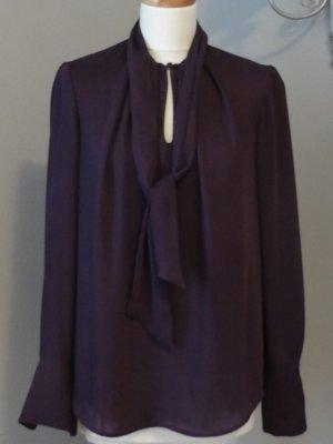 H&M Połyskująca bluzka purpurowy