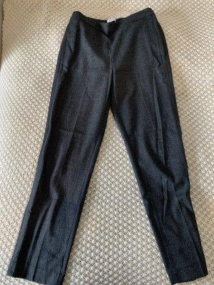 Mango Pantalón tipo suéter gris oscuro