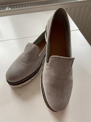 Bianco Pantofola grigio chiaro-grigio Pelle