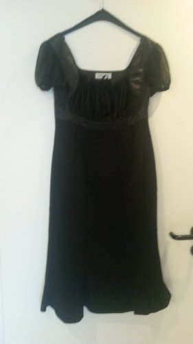 Ashley Brooke Empire Dress black cotton