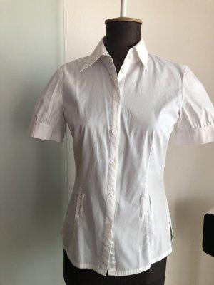Business Hemd Bluse Gr 36 S weiß von Taifun