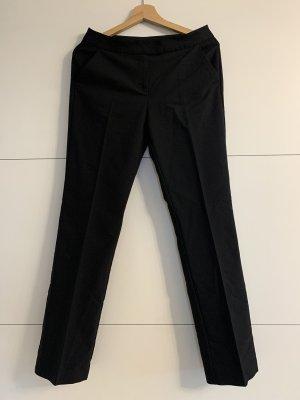 Hallhuber Pantalón de vestir negro