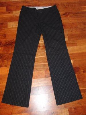 Esprit Pantalon en laine bleu foncé