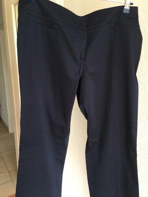 Esprit Pantalon en jersey bleu foncé coton