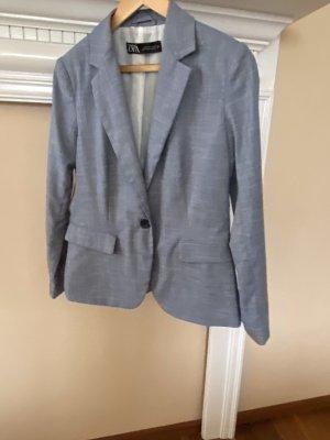 Zara Business Suit azure-pale blue