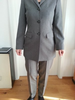 Pinstripe Suit grey