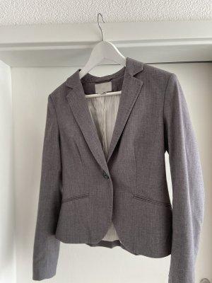 Tweed Blazer silver-colored