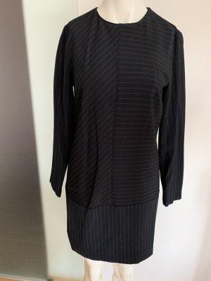 Business Kleid Etuikleid Gr 36 S von Mango Nadel Streifen