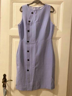 Mango Suit Pencil Dress azure