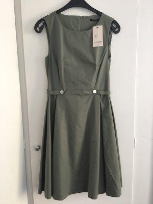 Business-Kleid olivfarben, NEU mit Etikett