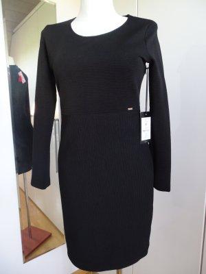 Cinque Vestido de manga larga negro Poliéster