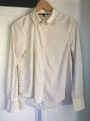 Business Look Bluse Punkte Gr. XS