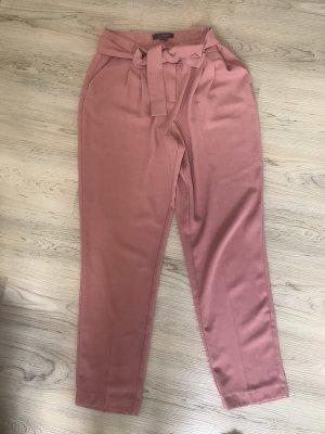 Primark Spodnie z zakładkami różowy