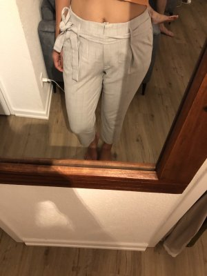 Pantalone a 7/8 grigio chiaro