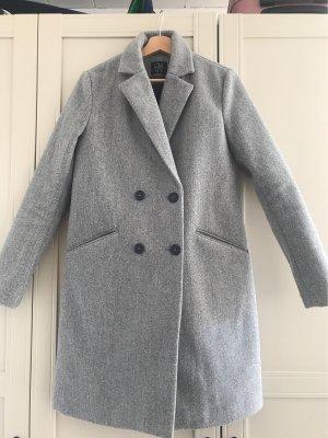 Clockhouse Abrigo de lana gris claro-gris