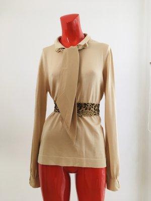 Business Pullover mit Schleife