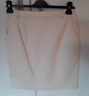 Hammer Spódnica ze stretchu w kolorze białej wełny