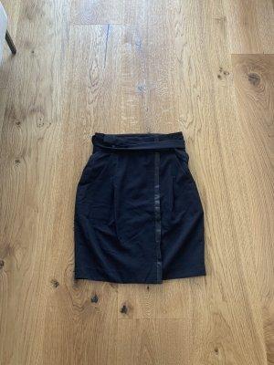 Cortefiel Midi Skirt dark blue