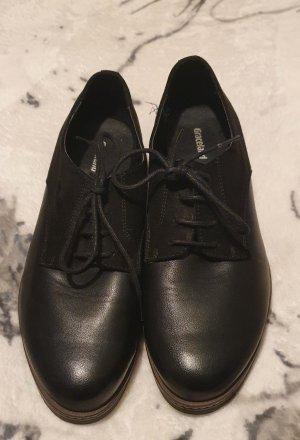 Deichmann Chaussure Oxford noir