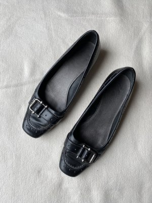 Esprit Cap Toes black-dark blue leather