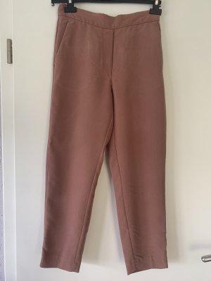 Mango Jersey Pants rose-gold-coloured
