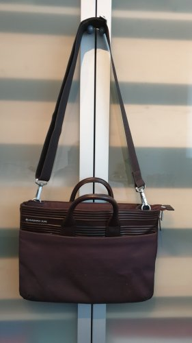 Mandarina Duck Briefcase dark brown