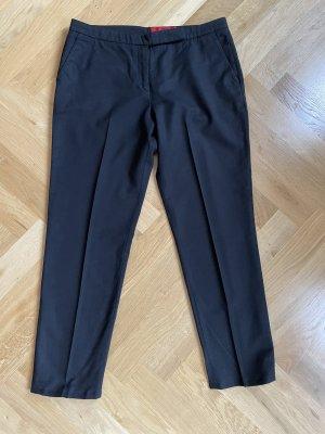 Hugo Pantalone di lana nero