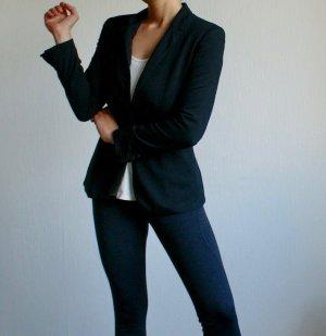 Businessblazer Sweat Blazer von Zara in Schwarz