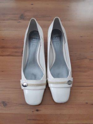 Esprit Zapatos Budapest blanco puro-crema