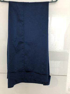Lalique Paris Pantalón de pinza azul