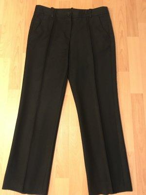 Rena Lange Pantalon en laine noir