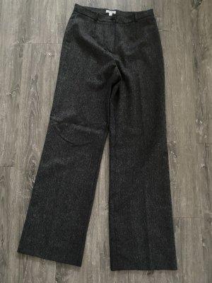 1.2.3 Paris Pantalone di lana antracite-grigio scuro