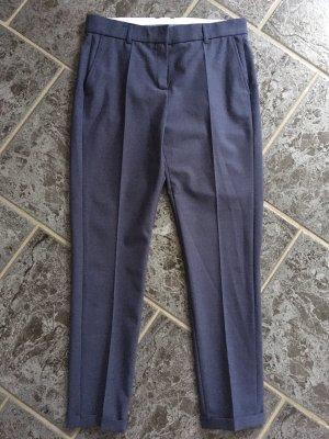 Pantalón de pinza azul oscuro