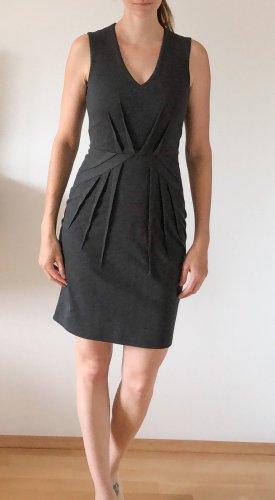 H&M Falda estilo lápiz gris antracita-gris oscuro