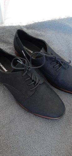 Graceland Veterschoenen zwart