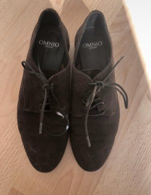 Wingtip Shoes dark brown