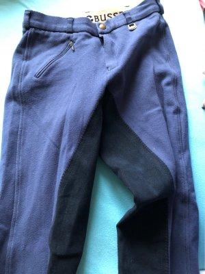 Pantalone da equitazione nero-blu scuro