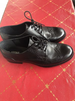 Leone Wingtip Shoes black