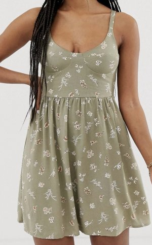 Bustier cut summer dress